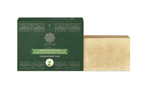 Hemp with Avocado Natural Body Soap Bar