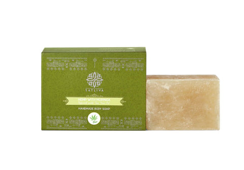Hemp with Moringa Natural Body Soap Bar