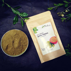 Natural Henna Powder - Pack of 2, 100g each