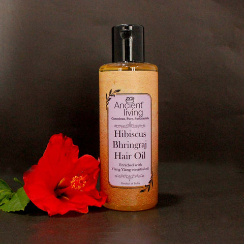 Hibiscus & Bhringraj Hair Oil (100ml)