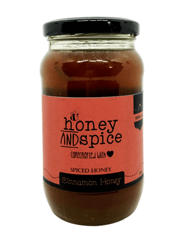 Honey and Spice Naturally Flavoured Cinnamon Honey
