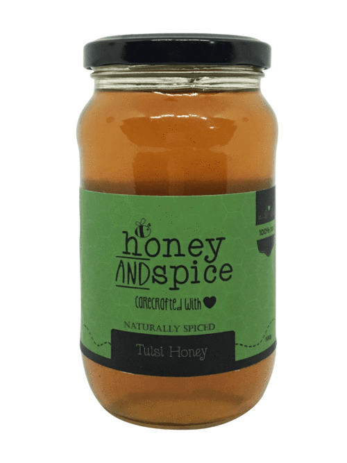 Honey and Spice Naturally Flavoured Tulsi Honey