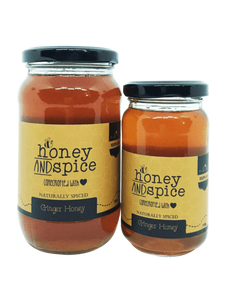 Honey and Spice Naturally Flavoured Ginger Honey