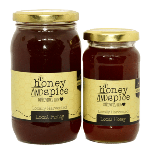 Honey and Spice Local Honey