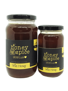 Honey and Spice Raw Wild Honey