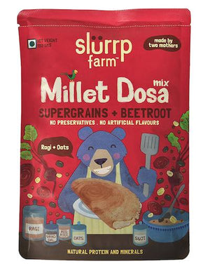 Instant Breakfast Millet Dosa Mix - Supergrains and Beetroot (Pack of 3) - 450g