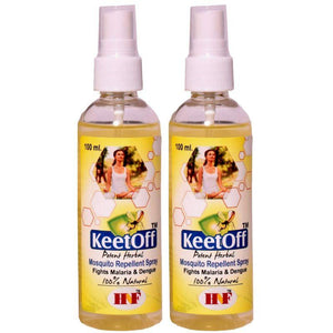 Herbal DEET-Free Mosquito Repellent (Pack of 2), 200ml each