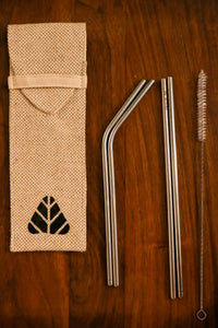 Minimo Reusable Stainless Steel Straws