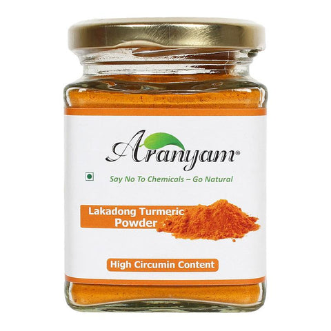 Natural Lakadong Turmeric Powder from Meghalaya, 100g