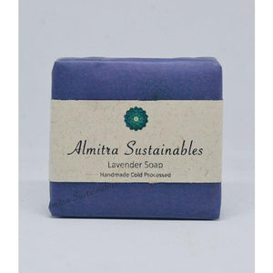 Handmade, Cold-Processed Lavender Soap