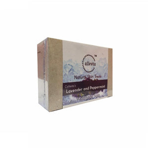 Natural Lavender and Peppermint Soap, 100g