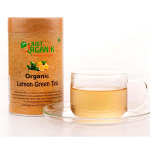 Organic Lemon Green Tea, 75g