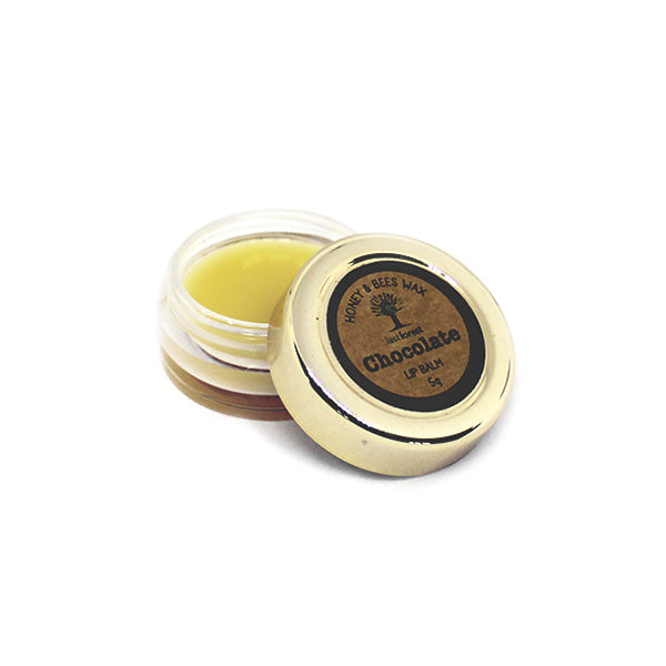 Natural Beeswax and Chocolate Lip Balm