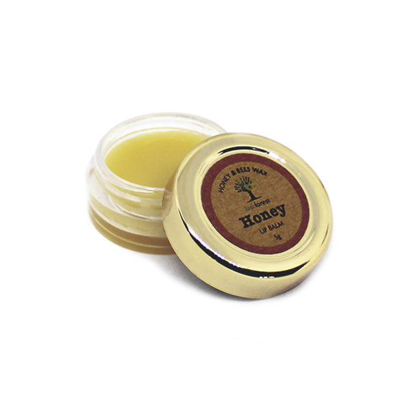 Natural Honey and Beeswax Lip Balm