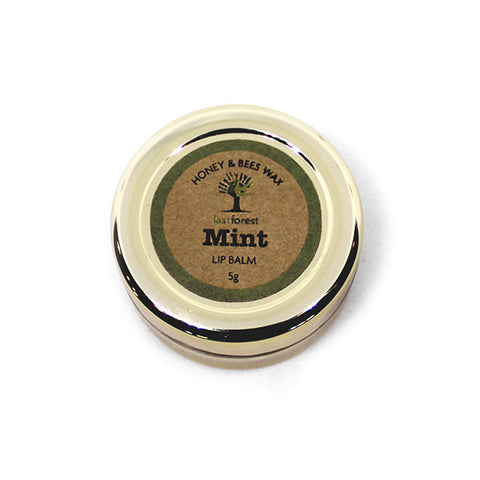 Natural Beeswax and Mint Lip Balm