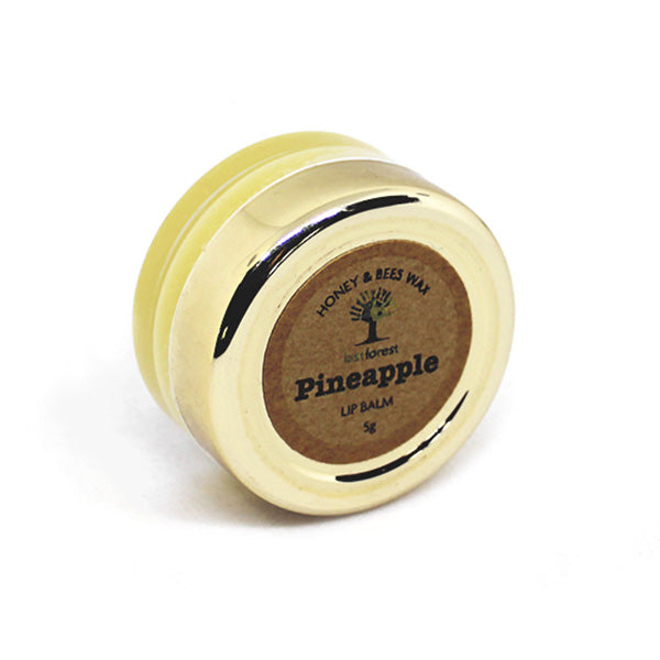 Natural Beeswax and Pineapple Lip Balm