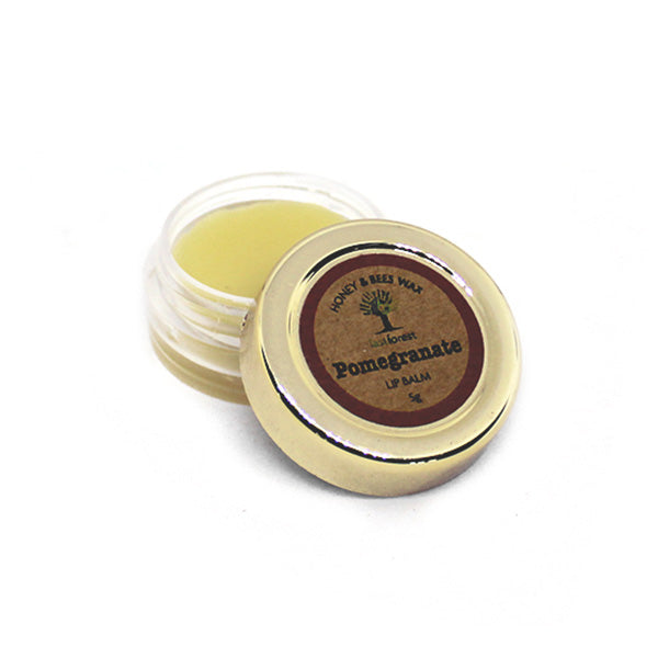 Natural Beeswax and Pomegranate Lip Balm