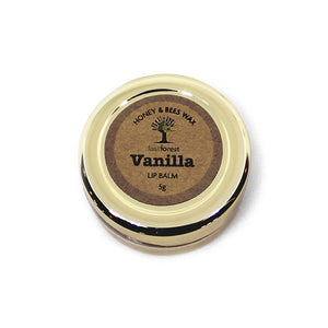 Natural Beeswax and Vanilla Lip Balm