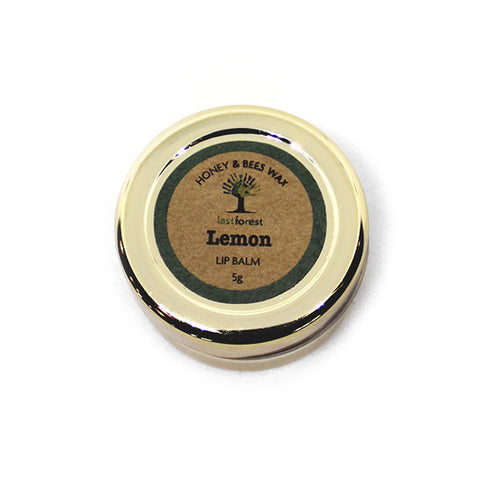 Natural Beeswax and Lemon Lip Balm