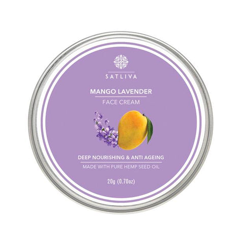 Natural Mango Lavender Face Cream