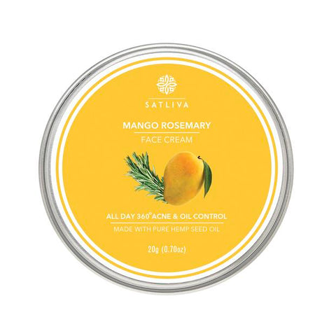 Natural Mango Rosemary Face Cream