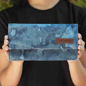 Handcrafted Marine Chaos Wallet