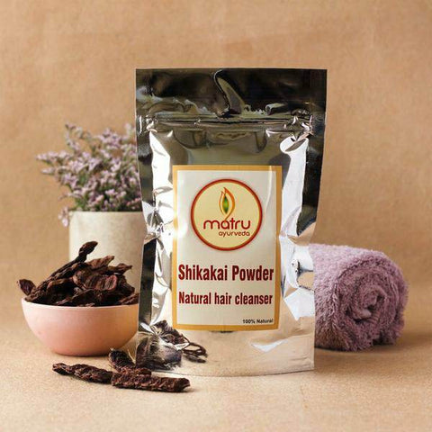 Premium Shikakai Powder Natural Hair Cleanser, 250g