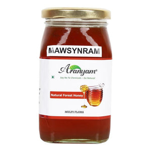 Raw Multi-Floral Natural Cherrapunji/ Mawsynram Forest Honey, 250g