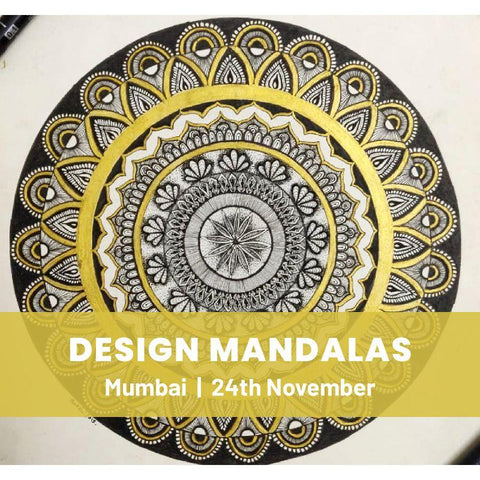 Meditative Mandala Workshop - Mumbai -  24th Nov, 2019