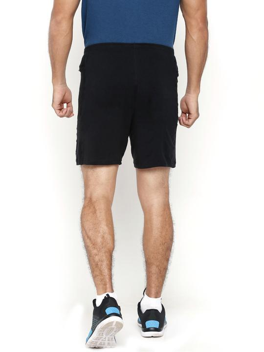 Men's Active Bamboo Shorts - Slate Black (AMFS001K)