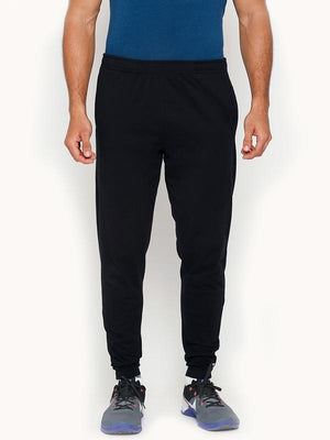 Men's Ankle Length Bamboo Joggers - Slate Black