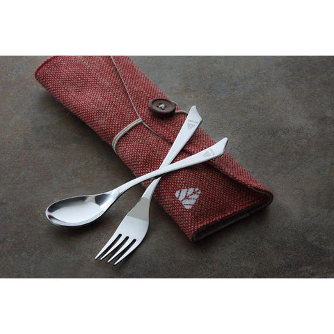 Reusable Cutlery Set (Spoon, Fork, Straw, Cleaner and Napkin)