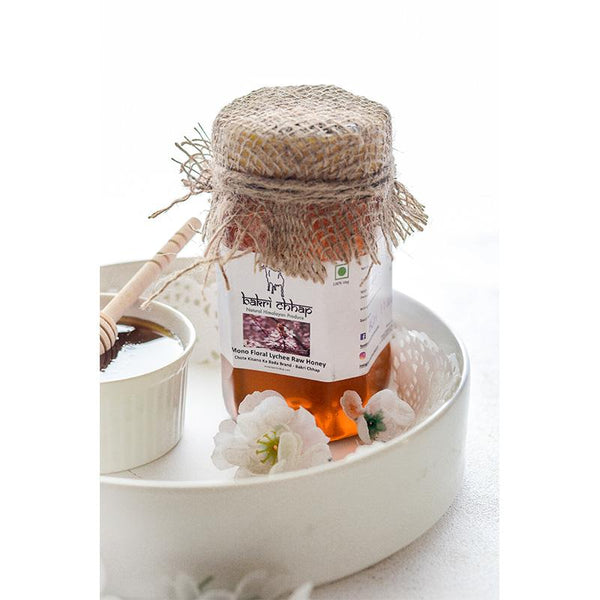Raw Floral Lychee Honey from the Himalayas, 500g