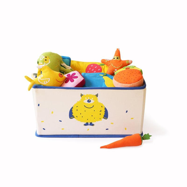 Foldable and Stackable Canvas Toy Storage Bin (Furso)