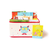 Foldable and Stackable Canvas Toy Storage Bin (Squasher Box)