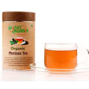 Organic Moringa Tea with Mint, 75g