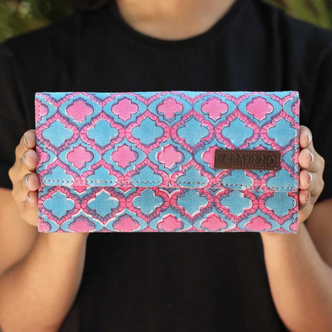 Handcrafted Mughal Arch Wallet