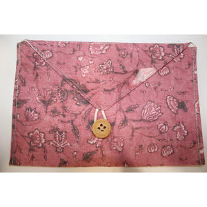 Envelope Pouch Made of Recycled Fabric - Pack of 4
