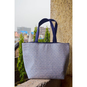 Handbag with Laptop Sleeve made of Recycled Fabric