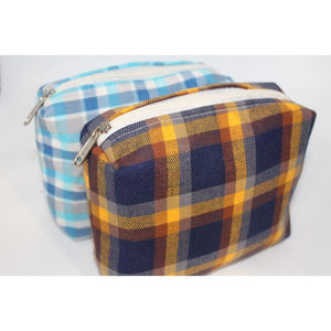 Toiletry Pouch Made of Recycled Fabric - Pack of 2
