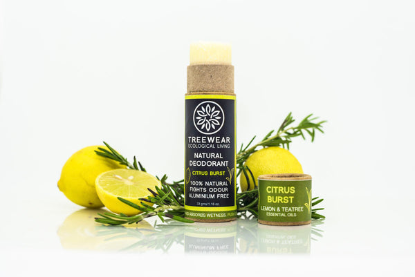 Natural Deodorant Stick - Citrus Burst