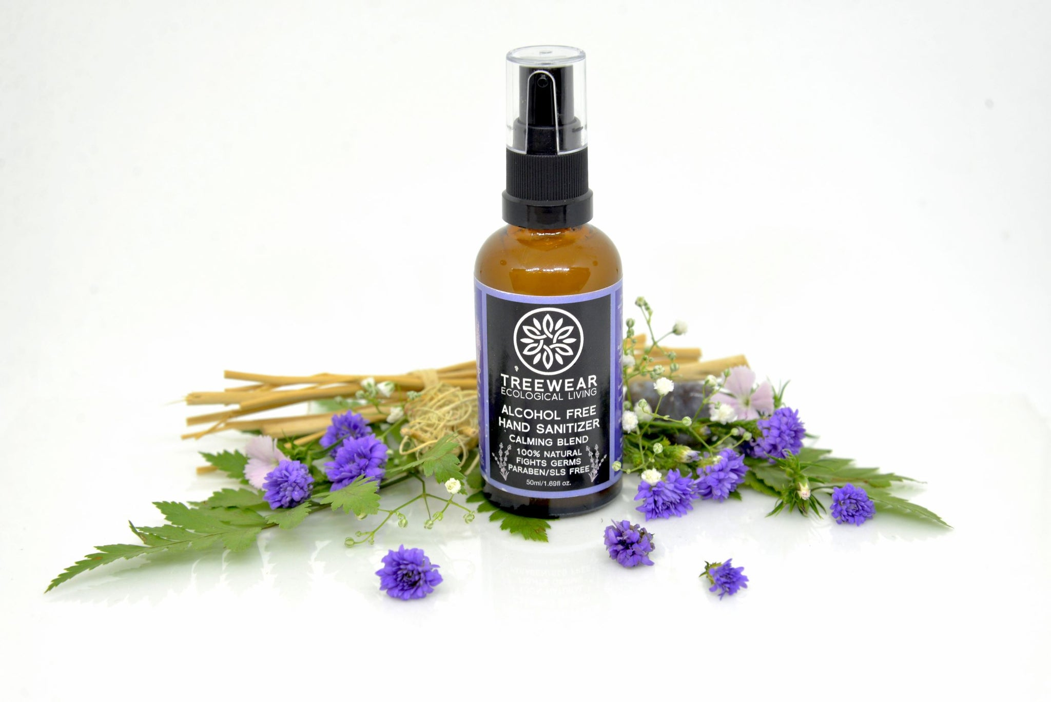 Natural Hand Sanitizer - Calming Blend