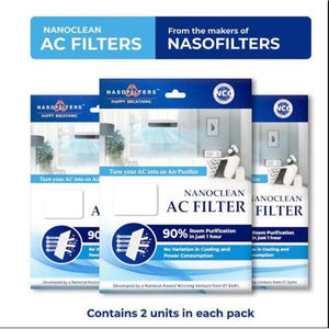 Nanoclean AC Filters (Pack of 3)