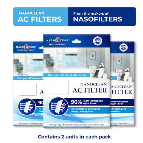 Nanoclean AC Filters (Pack of 2)