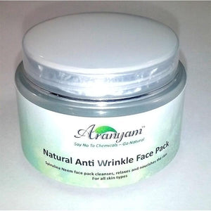 Anti-Wrinkle Spirulina and Neem Face Pack, 250g