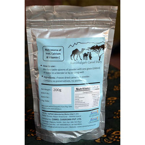 Natural Camel Milk Powder, 200g