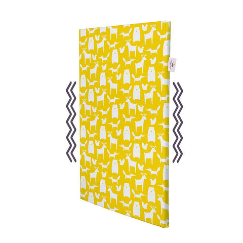 Natural Cotton Cover for NapNap Baby Sleeping Mat - Ello Yellow
