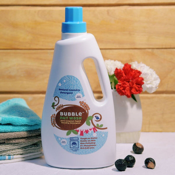 Natural Soapnut Liquid Laundry Detergent - 500ml and 1000ml