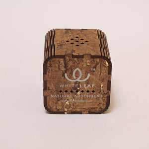 Natural Odour Absorbent for Cars - Made from Activated Carbon (Dice Shaped)- Wooden