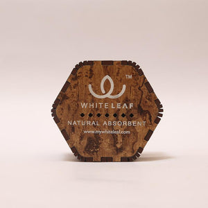 Natural Odour Absorbent for Cars - Made from Activated Carbon (Hexagon Shaped)- Wooden
